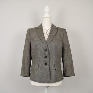 Ann Taylor Wool Tweed Classic Blazer